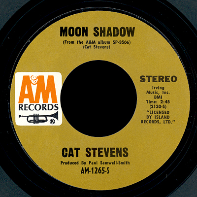 Image result for cat stevens moonshadow