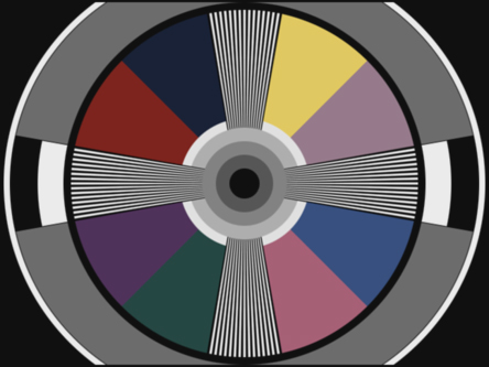 Question On Color Test Pattern Steve Hoffman Music Forums Stunning Test Pattern